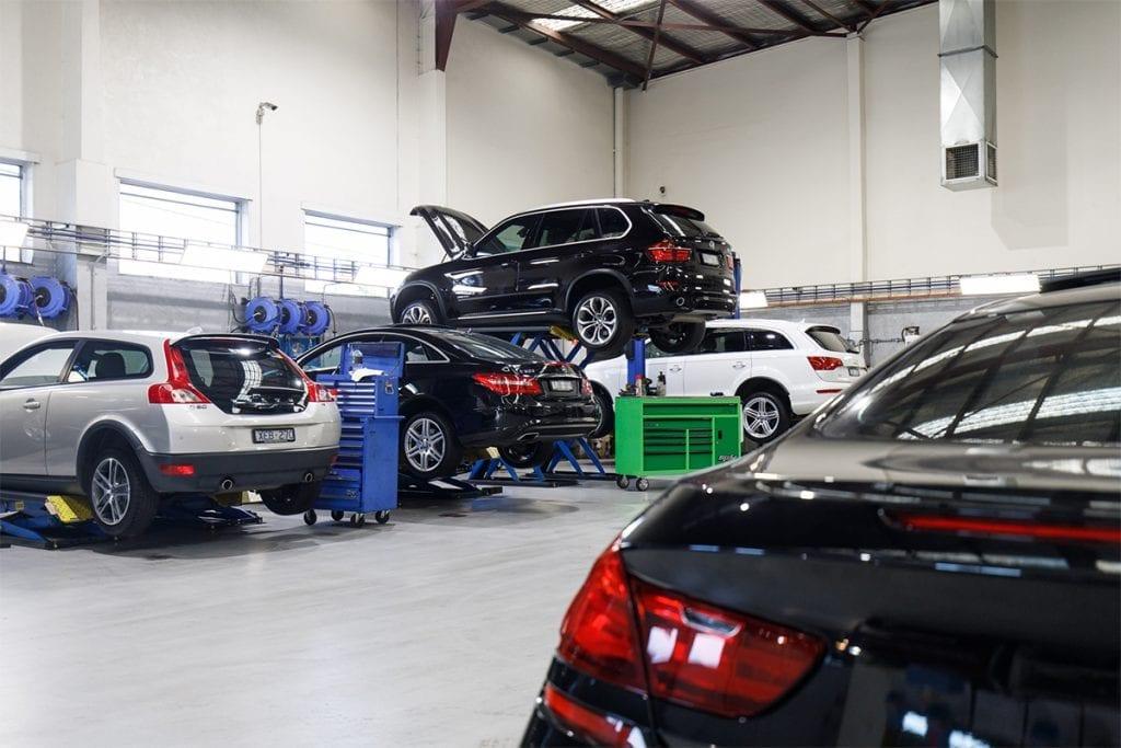 Cox Auto Mechanic Workshop